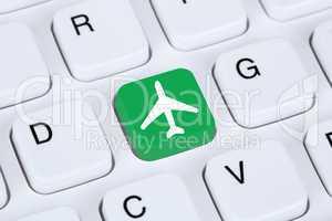 Reisen und Urlaub online buchen Shopping E-Commerce einkaufen im