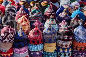 Hat sale in Morocco