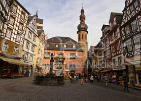 Marktplatz in Cochem, Mosel