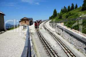 WOLFGANG, AUSTRIA :Schafberg Peak (1783m)