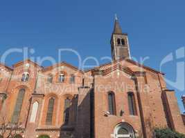 Sant Eustorgio church Milan