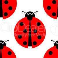 Seamles Ladybug