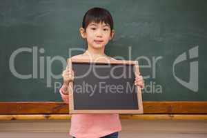 Pupil showing little blackboard