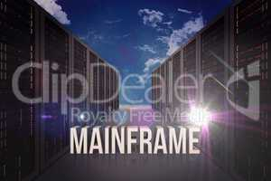 Composite image of mainframe
