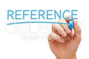 Reference Blue Marker