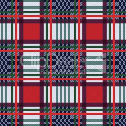Seamless rectangular pattern as a tartan plaid