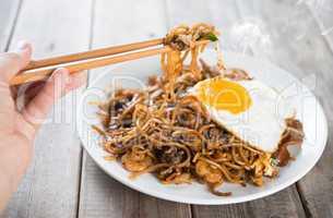 Stir fried Char Kway Teow