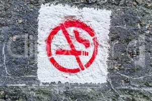 Graffiti Rauchen Verboten