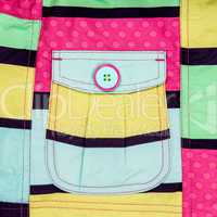 Patch pocket close-up