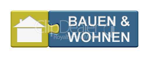 Puzzle Button: Bauen & Wohnen