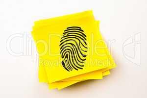 Composite image of fingerprint