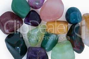 Colorful stones for alternative medicine