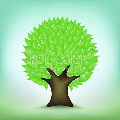 green tree