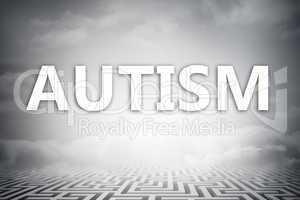 Composite image of autism