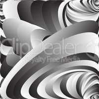 Vector Abstract Psychedelic Background