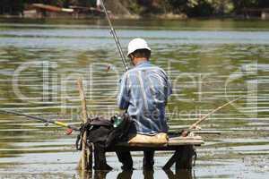 fisherman on the bridge