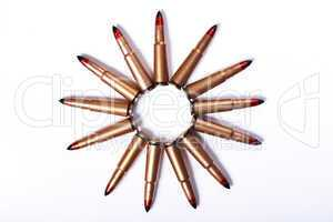bullets isolated