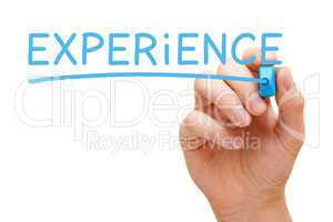 Experience Blue Marker