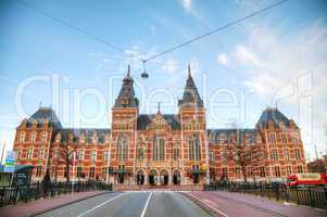 Netherlands national museum in Amsterdam