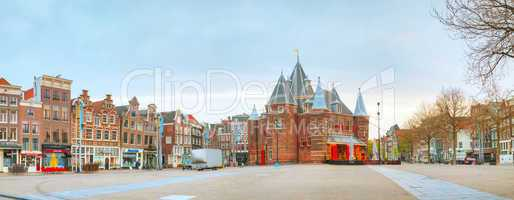 The Waag (Weigh house) in Amsterdam