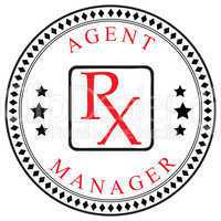 Symbol for Agent or Manager pharmaceutical company