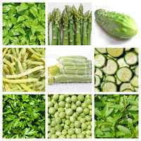 Vegetarian food set