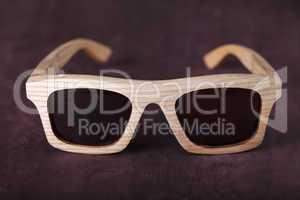 wooden decor glasses