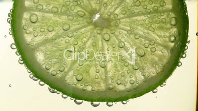 Lime in soda