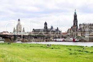 Old Town of Dresden in Saxony