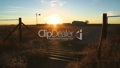 Farm Sunset Time-lapse