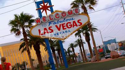 Las Vegas Welcome Sign, Snap Zoom
