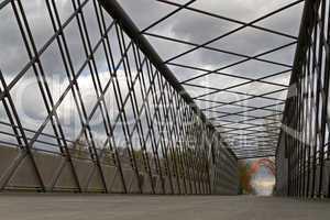 Stahlbrücke im Ruhrgebiet