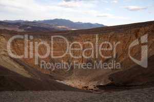 Uhehebe Krater, Death Valley NP, Kalifornien, USA