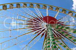 Riesenrad, Jahrmarkt, Rummel
