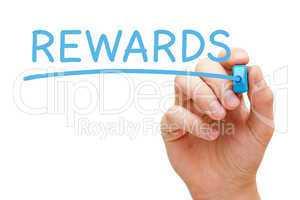 Rewards Blue Marker