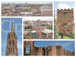 Coventry landmarks collage