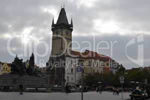 Prague's Old Town City Hall