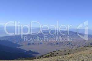 Death Valley from the telescope peak