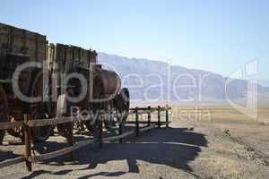 Train in the Death Valley