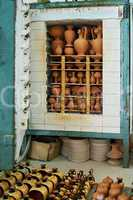 Oven for drying clay pots