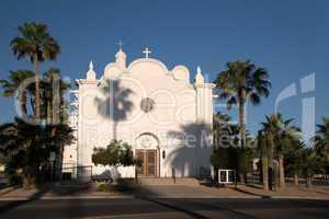 Kirche der Unbefleckten Empfängnis, Ajo, Arizona, USA