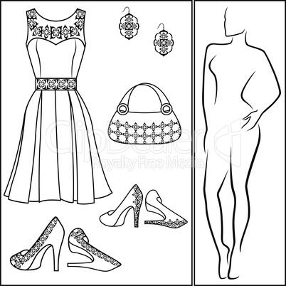 Different female accessories
