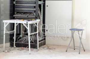 Patch cord panel