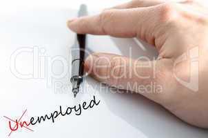 Unemployed Concept