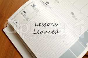 Lessons Learned Concept