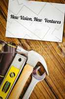 New vision, new  ventures against white card