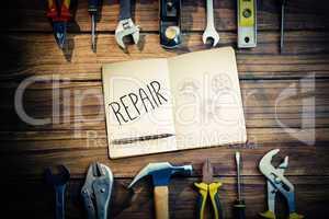 Repair against blueprint