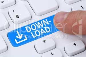 Download Herunterladen drücken von Programm Symbol