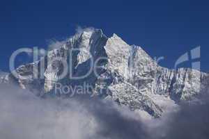 Majestic Peak of Thamserku