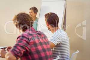 Creative businesswoman in meeting